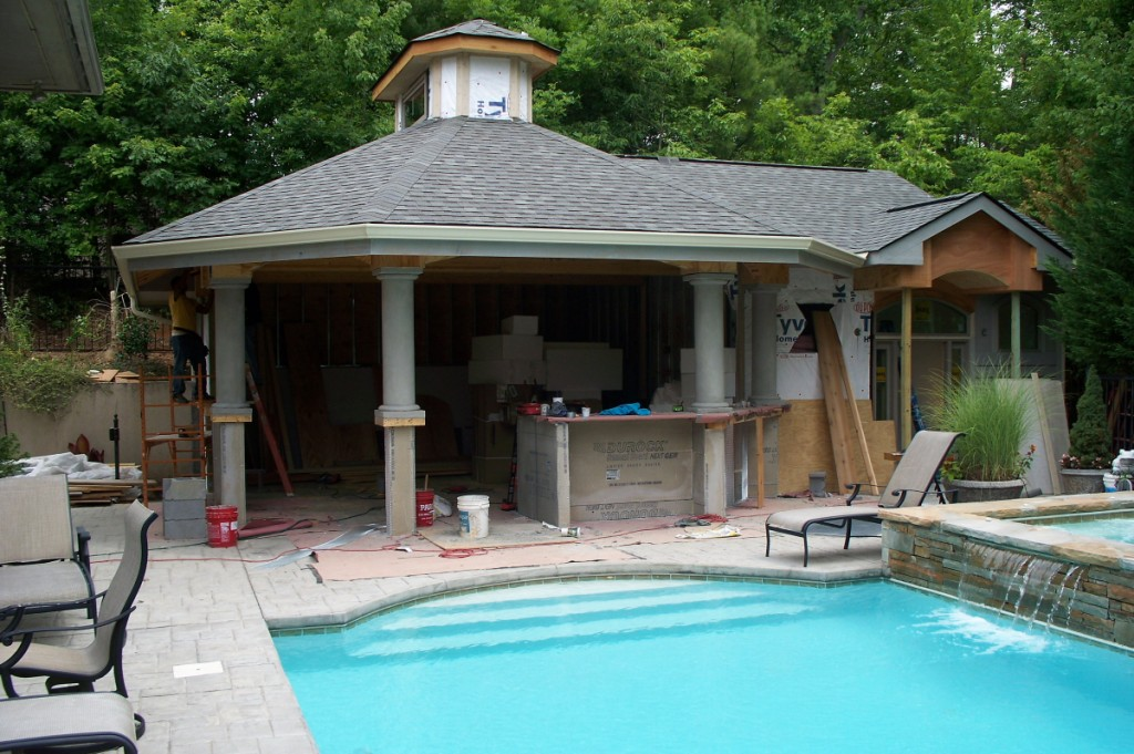 residential outdoor construction and renovating services
