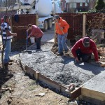 Residential Outdoor Renovations - Sidewalks and Stamping